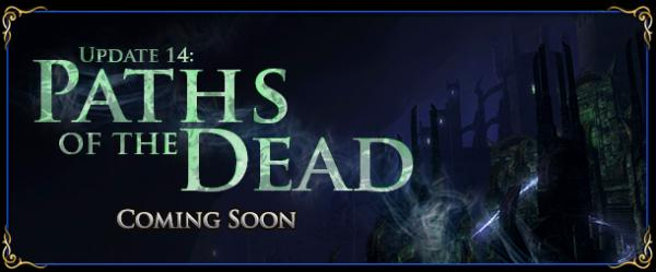 Paths of the Dead, el Update 14 de The Lord of the Rings Online.